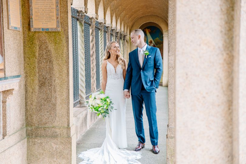 St. Francis Hall Wedding