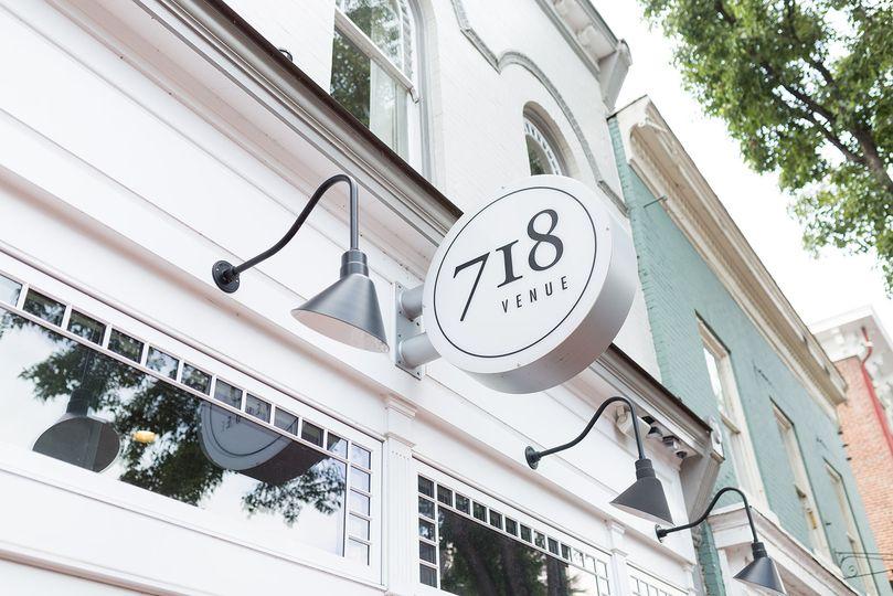 718 Venue Sign