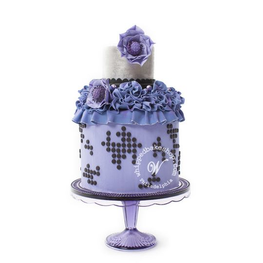 blackberry dot wedding cake whipped bakeshop