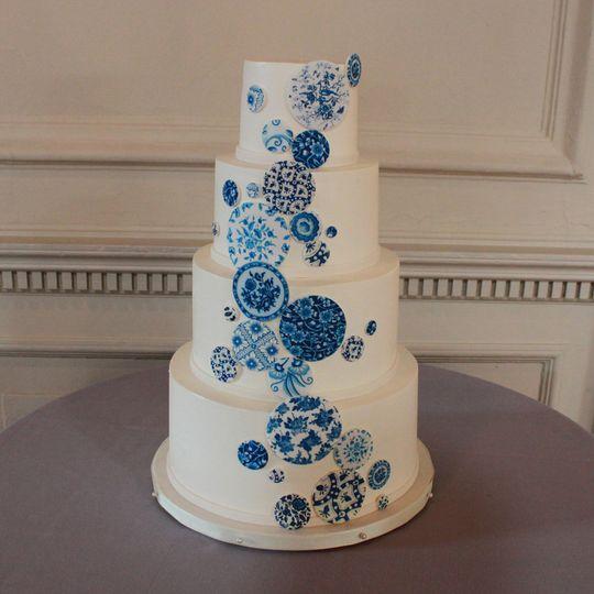china pattern cake