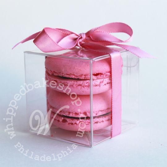 macaron favor box whipped bakeshop wedding wmkd 2