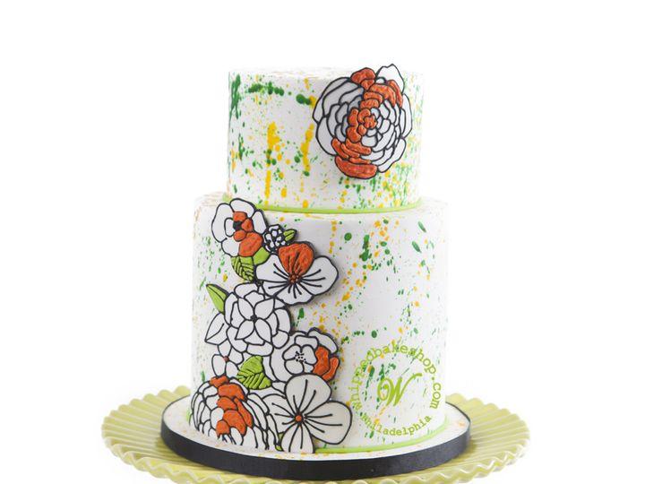 Tmx 1404404130328 Painting Without Numbers Wedding Cake Whipped Bake Philadelphia wedding cake