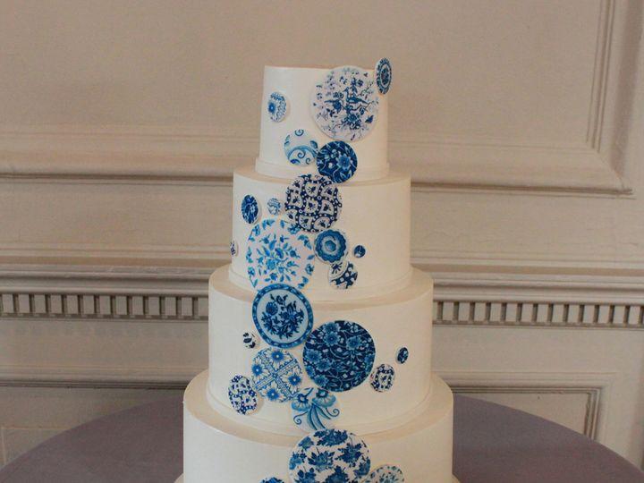 Tmx 1404404238537 China Pattern Cake Philadelphia wedding cake