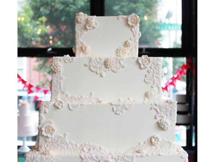 Tmx 1404405241535 Floral Lace Wedding Cake Main Philadelphia wedding cake