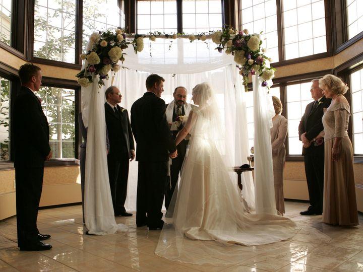 Tmx 1376335212345 Atrium With Bride  Groom Aurora, Ohio wedding venue