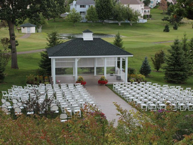 Wedding ceremony venue without guests
