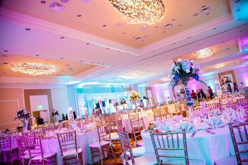 CR Ballroom Wedding Reception