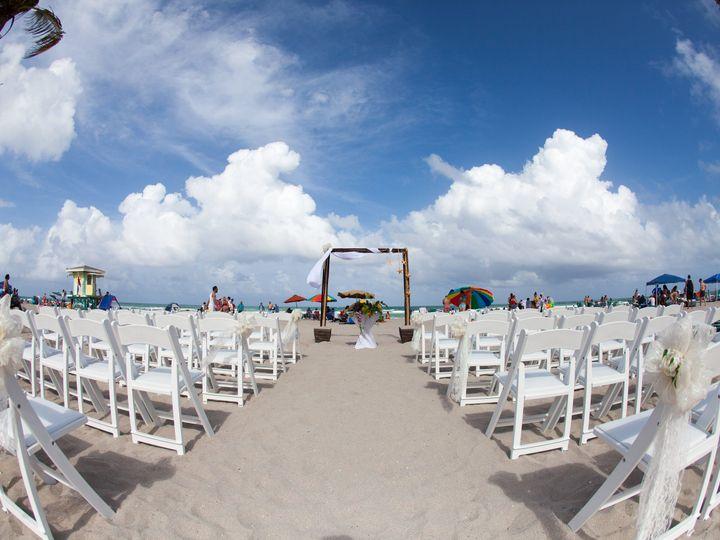 Tmx Beach Ceremony Pic1a 51 727308 Hollywood, FL wedding venue