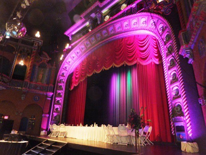 Tmx 1354735583024 TheaterStagesetup Kansas City, MO wedding venue