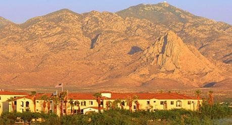 Hotel View of Santa Rita Mountains