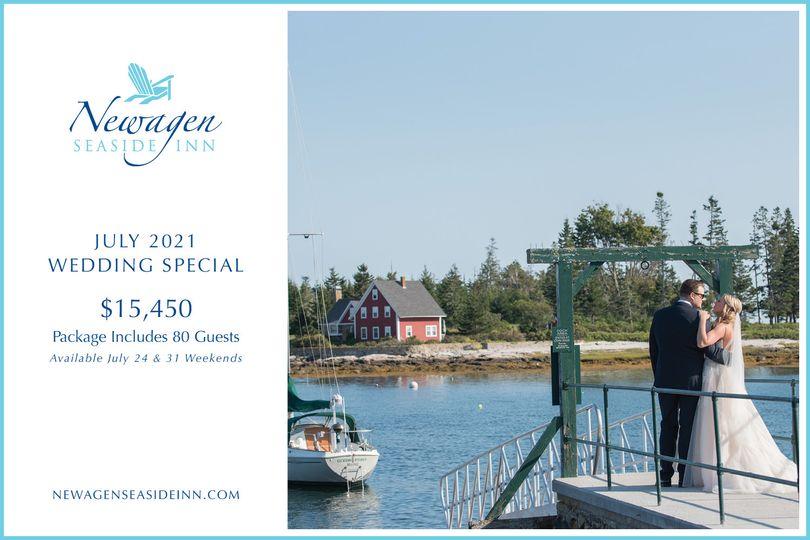 July 2021 Wedding Special