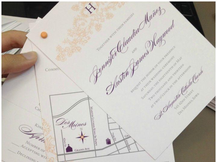 Tmx 1434742894549 Invite6 Ames wedding invitation