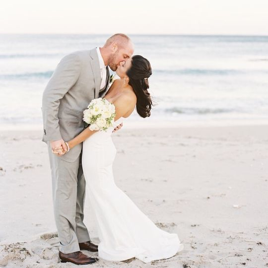 Beach kiss
