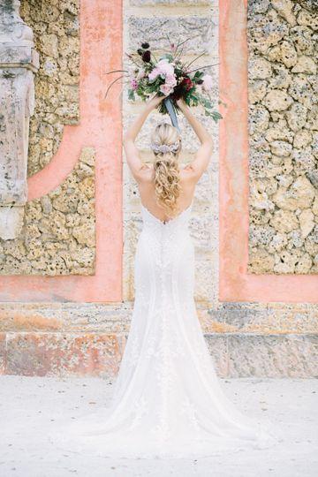 Beautiful wedding look