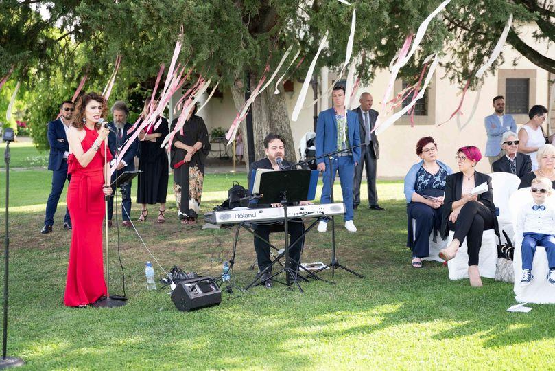 Piano & Voice for ceremony