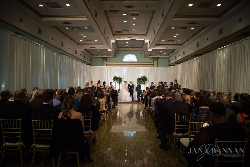 Ceremony in the Grand Ballroom