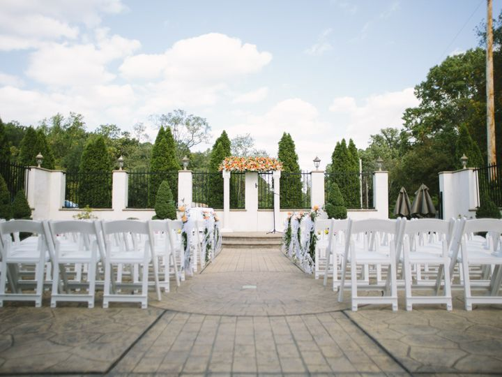 Tmx 1418311659116 Gold Courtyard Ceremony 6 Mendenhall, PA wedding venue