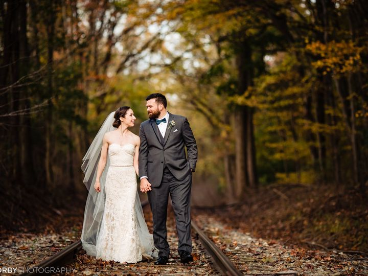 Tmx Walking On Tracks In Fall 51 3408 157869768545473 Mendenhall, Pennsylvania wedding venue