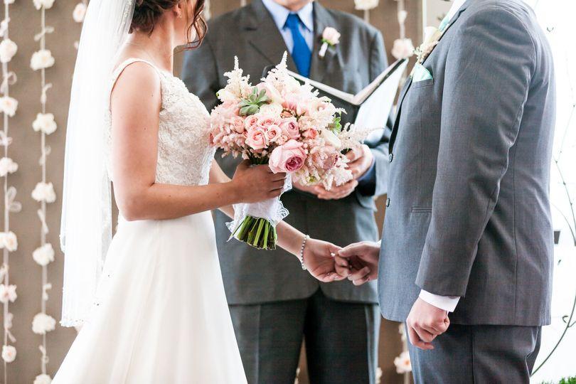 Wedding of Molly + Derrick