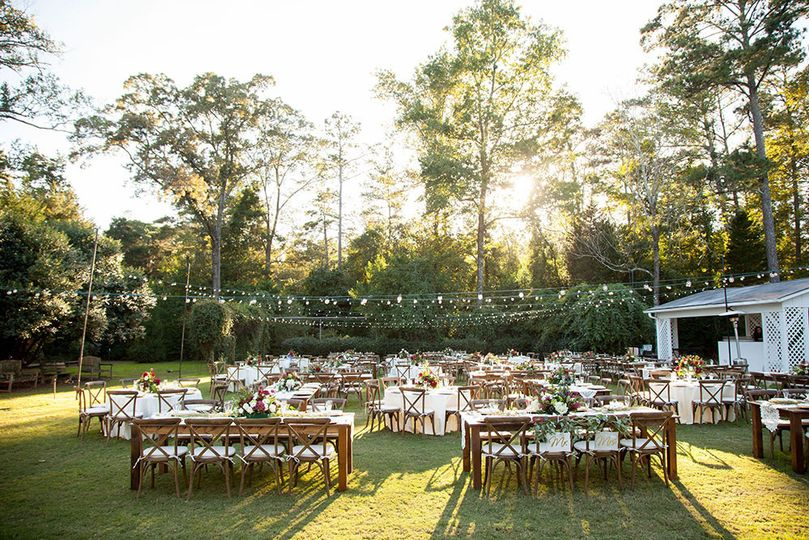 oconee events farm table reception at burge planta