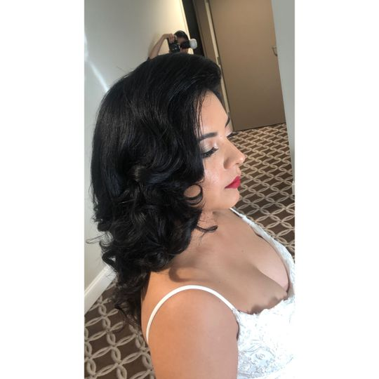Old fashion curls