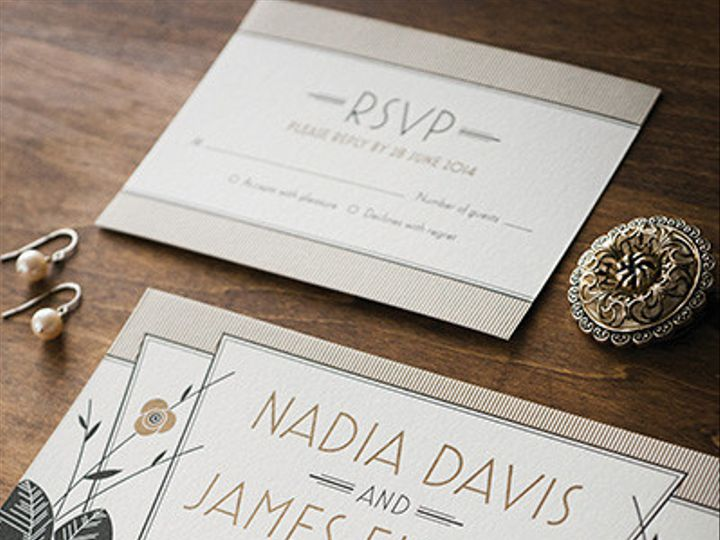 Tmx 1425684535189 Artdecoinvite1 1024x621 Cincinnati, OH wedding photography