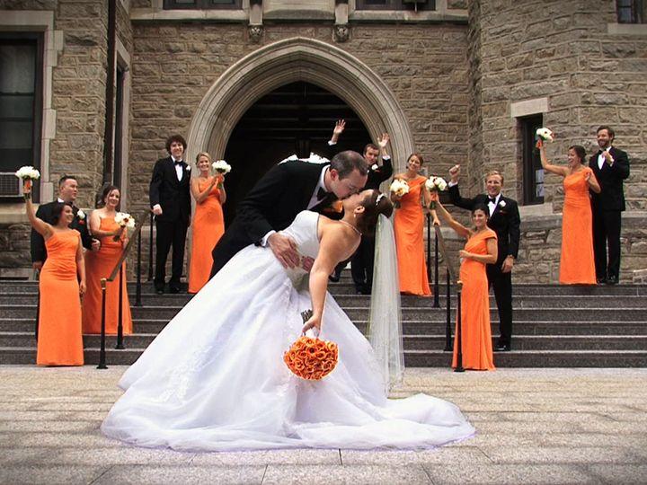 Tmx 1456615453070 Megan  Sean Dip Kiss For Web Pedricktown wedding videography