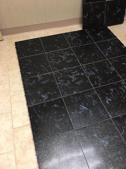 Black tiling