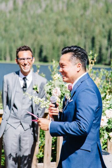 The groom | Emily Sacco Wedding Photography