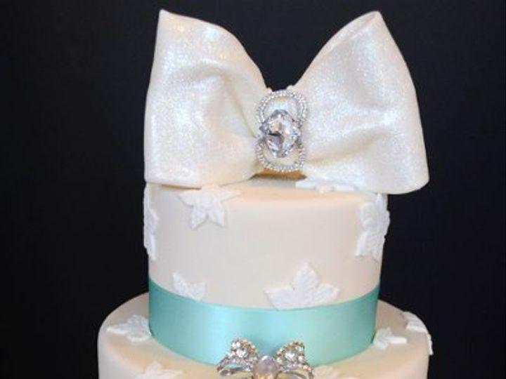 Tmx 1328555374540 Diamondweddingcake Brooklyn wedding cake