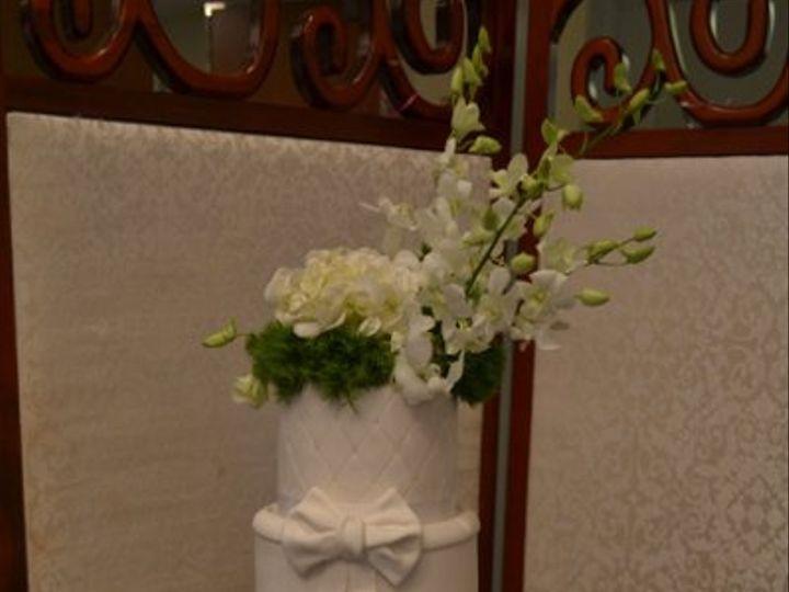 Tmx 1328555382428 Freshflower Brooklyn wedding cake