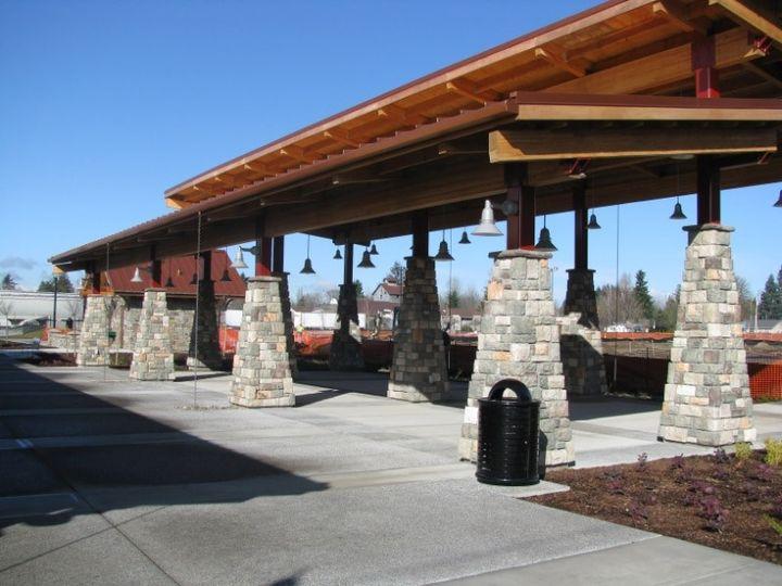 Outdoor pavilion/patio area