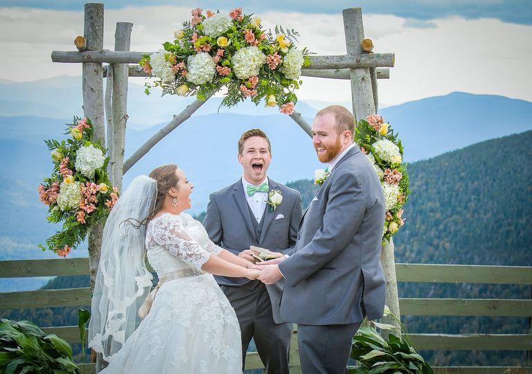 Jay's Peak Wedding Ceremony