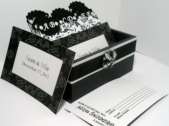 Tmx 1373331903266 Black Damask5 Brooklyn wedding favor