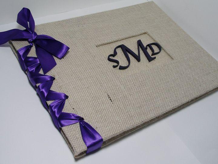 Tmx 1373332703728 Burlap Deep Purplephoto 1 Brooklyn wedding favor