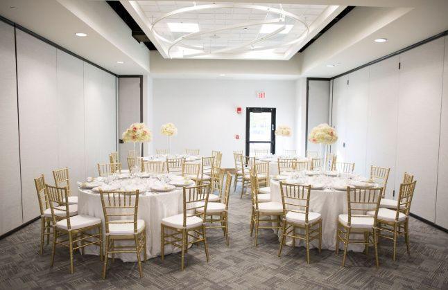 Intimate reception hall