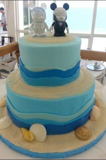 800x800 1384970944285 wedding cake blue wave