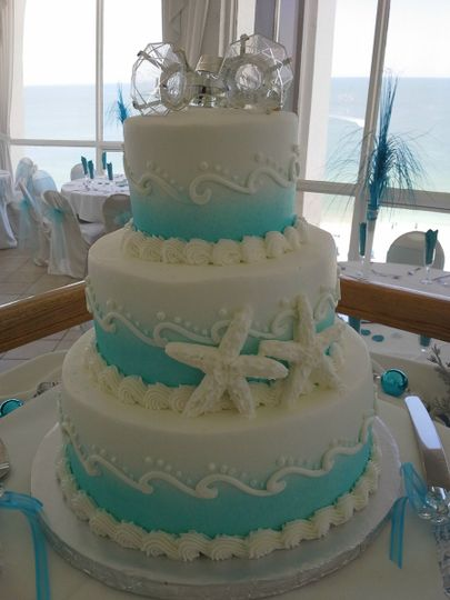 800x800 1384971064852 wedding cake blue and white waves and starfis