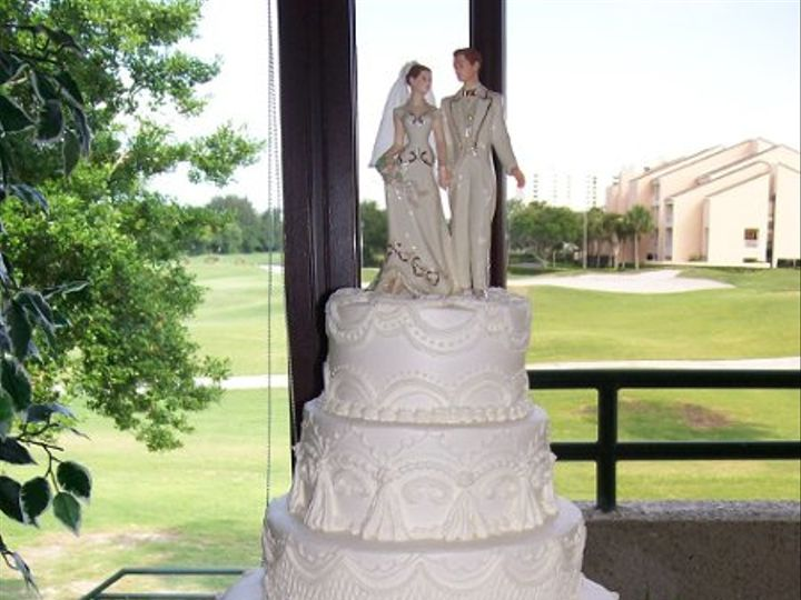 Tmx 1316011667673 21 Saint Petersburg, Florida wedding cake
