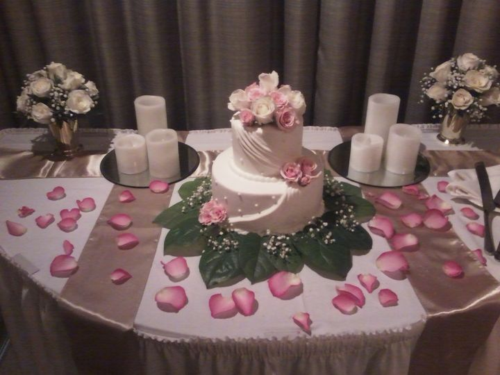 Tmx 1384969092775 Bilmar 2 Tier Draped Cak Saint Petersburg, Florida wedding cake
