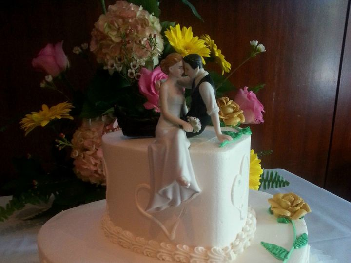 Tmx 1384970422034 50th Anniversary Heart Cak Saint Petersburg, Florida wedding cake