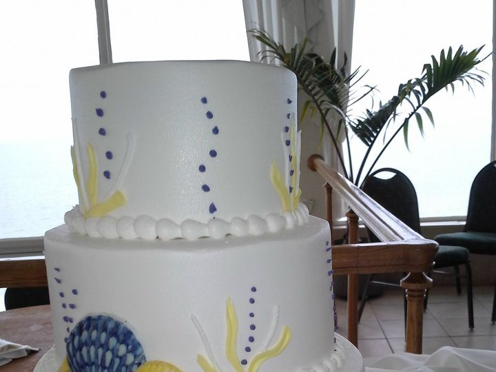 Tmx 1384970862862 Undersea Wedding Cak Saint Petersburg, Florida wedding cake