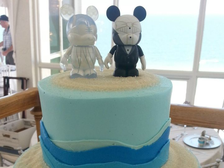 Tmx 1384970944285 Wedding Cake Blue Wave Saint Petersburg, Florida wedding cake