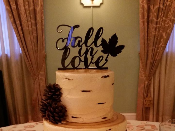 Tmx 1477613974855 Birch Tree Wedding Cake Saint Petersburg, Florida wedding cake