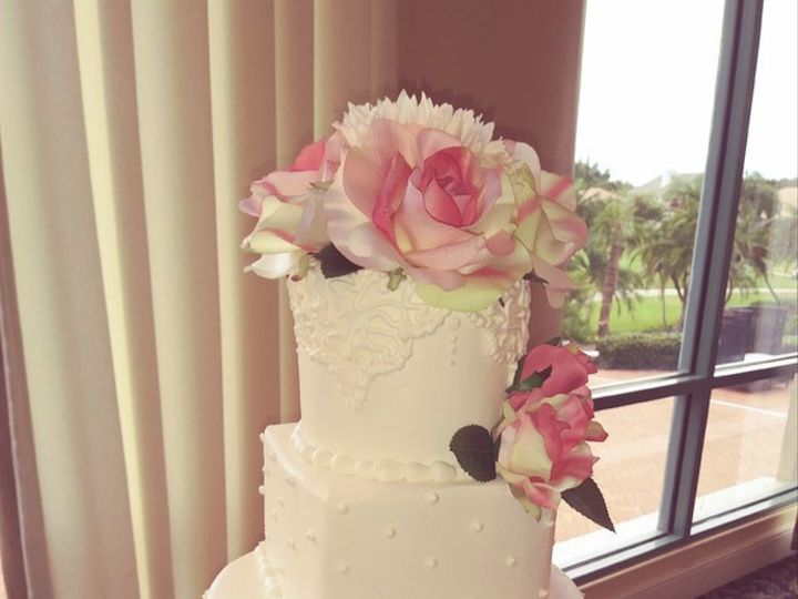 Tmx 1505139294899 800x8001504387245598 Wedding Cake  Bayou Club Saint Petersburg, Florida wedding cake