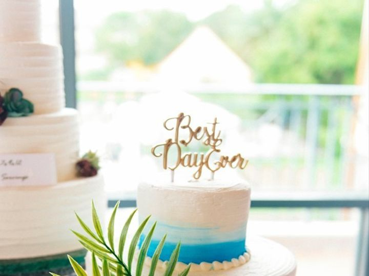 Tmx Blue Cake Pic 51 184508 1571411644 Saint Petersburg, Florida wedding cake
