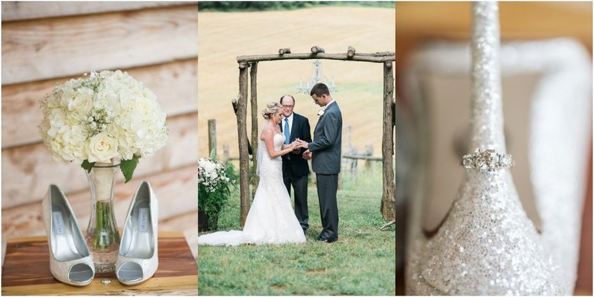 rustic diamond v farm wedding roanoke virginia blu