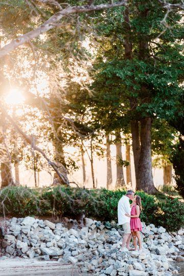 Sunset Lake Engagement