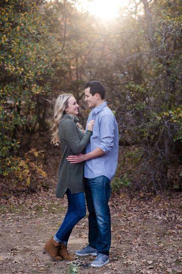 Denton County Engagement Photo