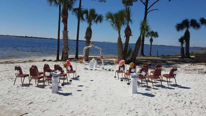 Or have your ceremony on our private sugar sand beach.